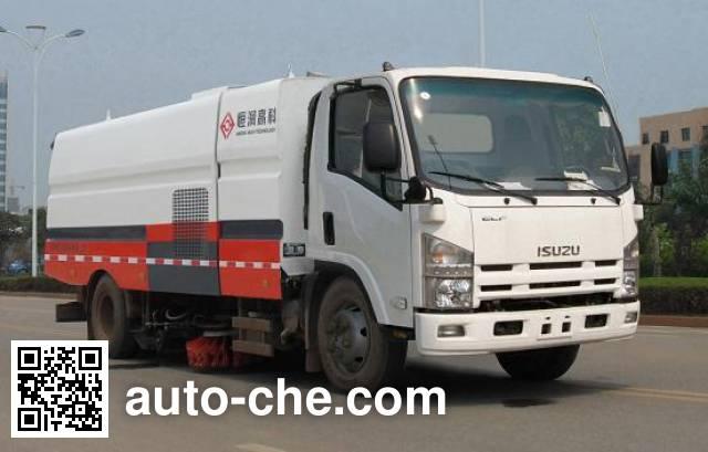 Henghe HHR5100TXS3QL street sweeper truck