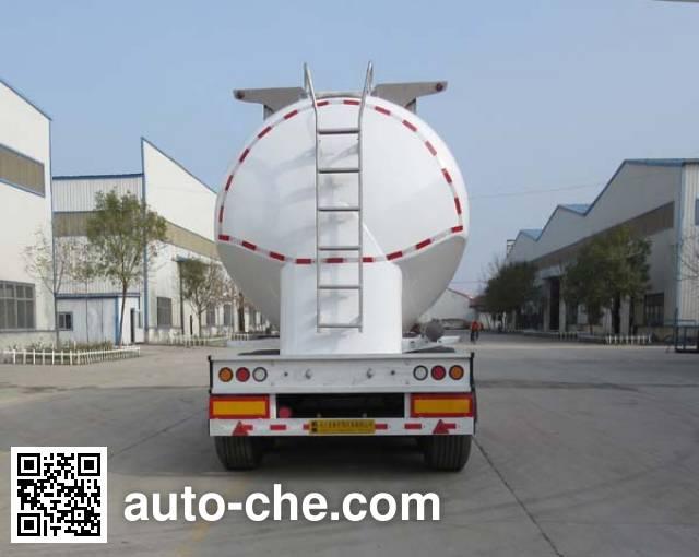 正康宏泰牌HHT9400GFLA铝合金中密度粉粒物料运输半挂车