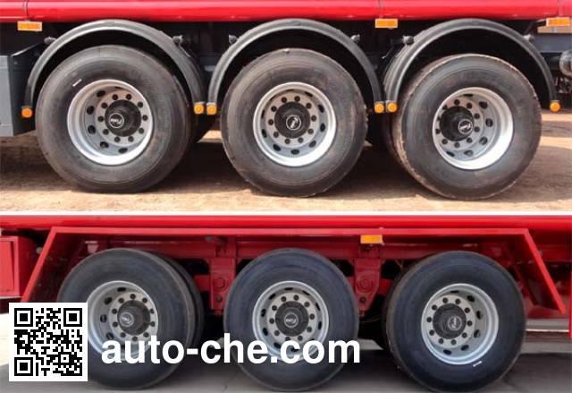 Zhengkang Hongtai HHT9400GRYB flammable liquid aluminum tank trailer