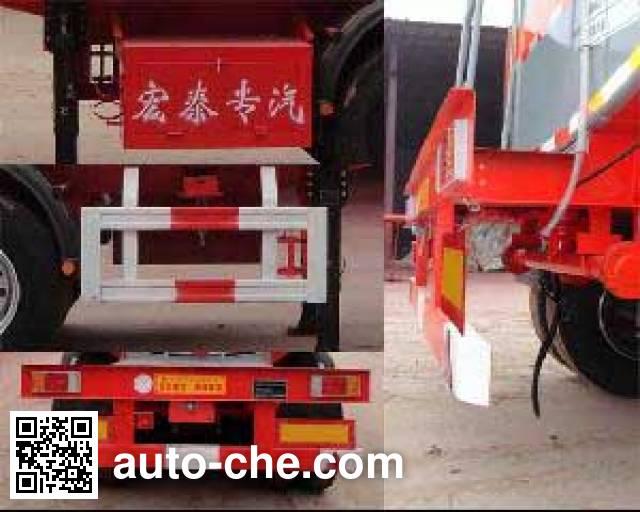 Zhengkang Hongtai HHT9401GFW corrosive materials transport tank trailer
