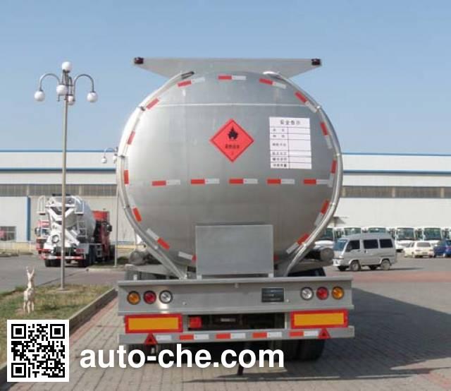Zhengkang Hongtai HHT9400GHYB chemical liquid tank trailer