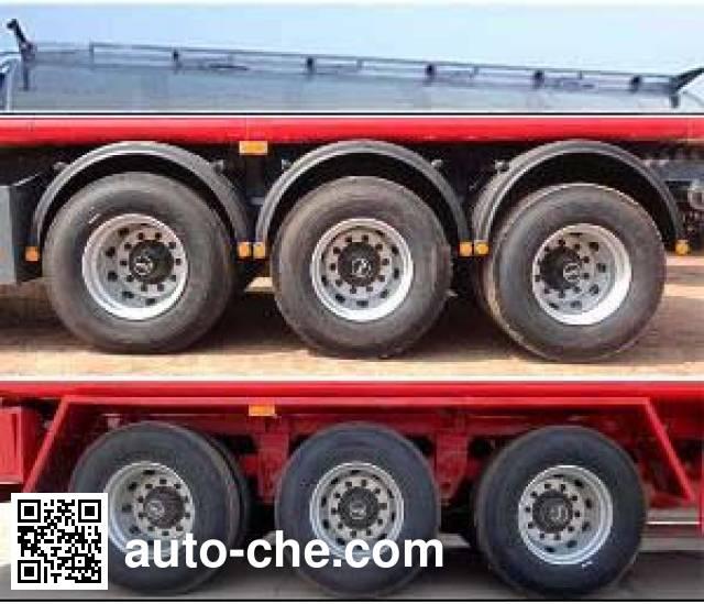 Zhengkang Hongtai HHT9401GRYB flammable liquid aluminum tank trailer