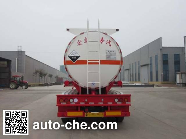 Zhengkang Hongtai HHT9404GFWA corrosive materials transport tank trailer