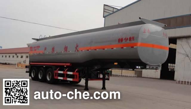 Zhengkang Hongtai HHT9406GRY flammable liquid tank trailer