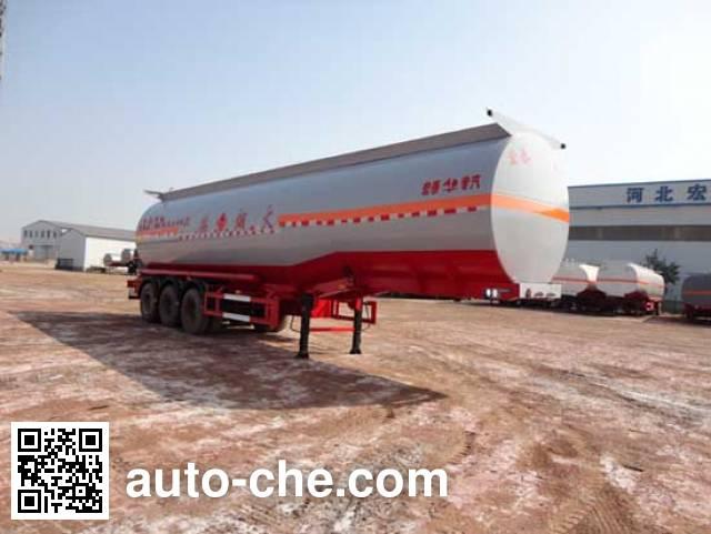Zhengkang Hongtai HHT9407GRY flammable liquid tank trailer
