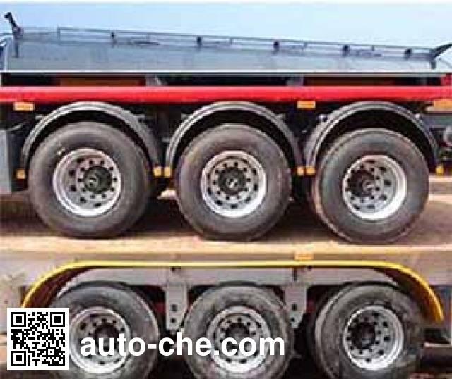 Zhengkang Hongtai HHT9407GRYA flammable liquid aluminum tank trailer