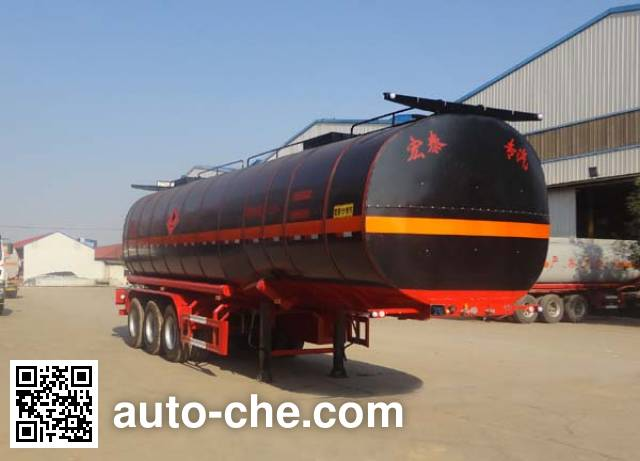 Zhengkang Hongtai HHT9407GRYB flammable liquid tank trailer