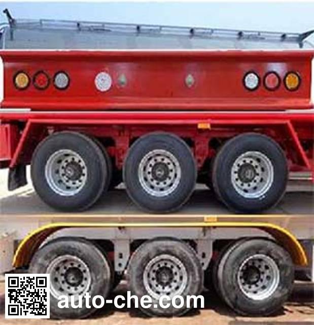 Zhengkang Hongtai HHT9408GRY flammable liquid tank trailer