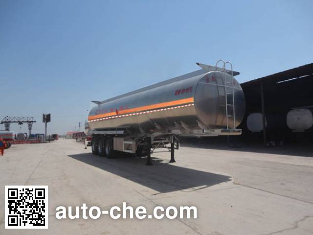 Zhengkang Hongtai HHT9408GRYA flammable liquid aluminum tank trailer