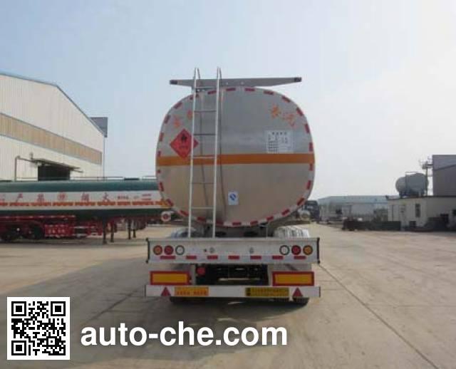 Zhengkang Hongtai HHT9408GRYB flammable liquid aluminum tank trailer