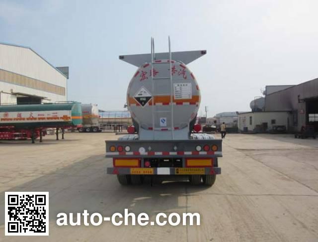 Zhengkang Hongtai HHT9409GFW corrosive materials transport tank trailer