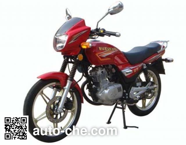 铃木牌HJ125K-2A两轮摩托车