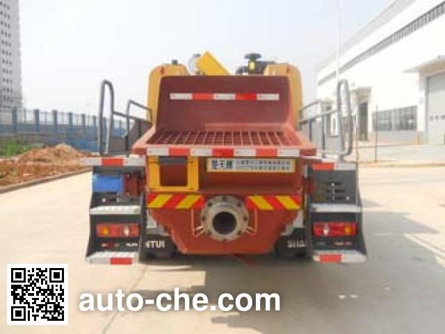 Shantui Chutian HJC5122THB truck mounted concrete pump