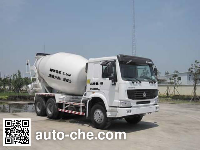 楚天牌HJC5258GJB混凝土搅拌运输车