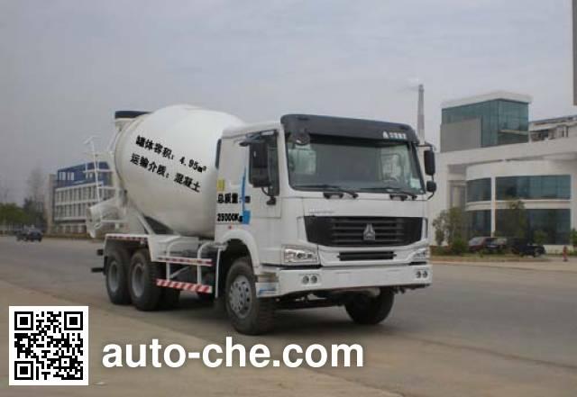 楚天牌HJC5258GJB2混凝土搅拌运输车