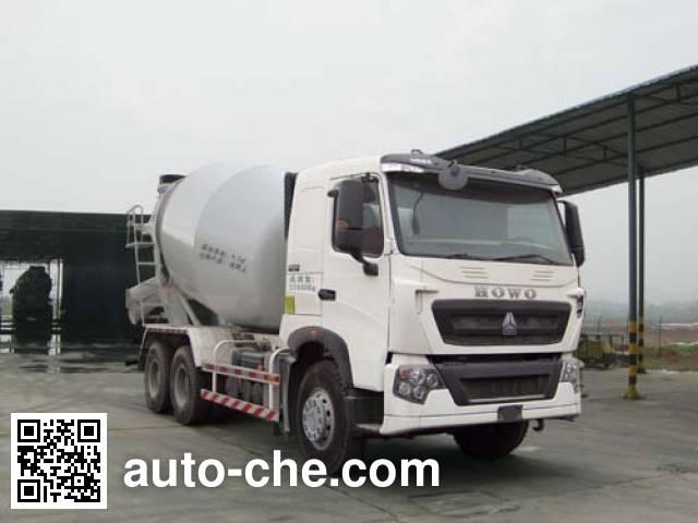 楚天牌HJC5258GJB3混凝土搅拌运输车