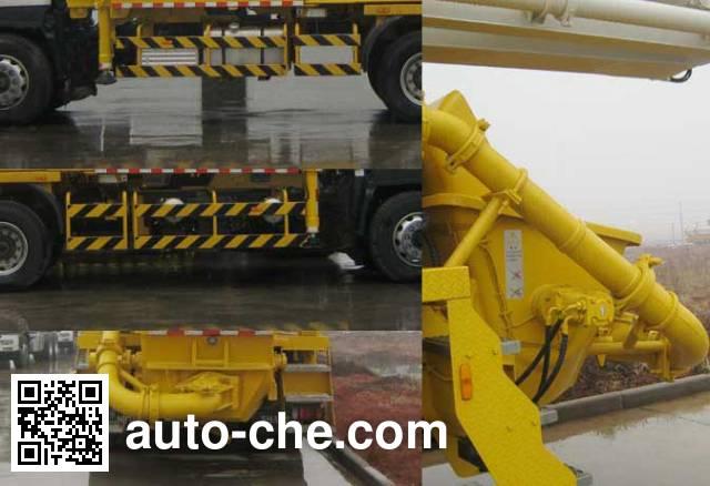 Shantui Chutian HJC5270THB concrete pump truck
