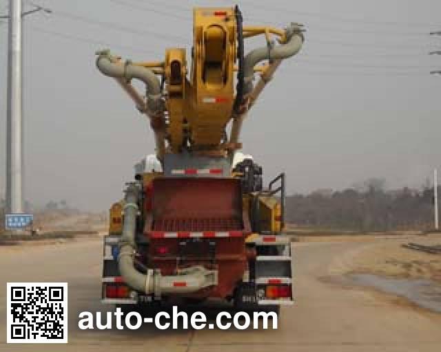 Shantui Chutian HJC5275THB concrete pump truck