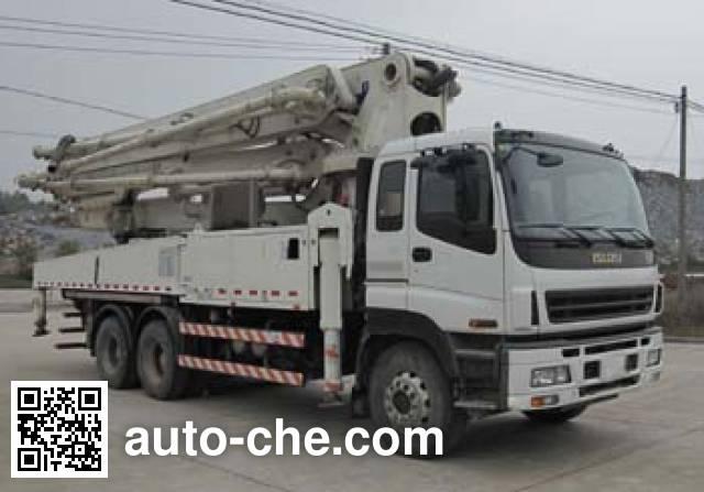 Shantui Chutian HJC5320THB concrete pump truck