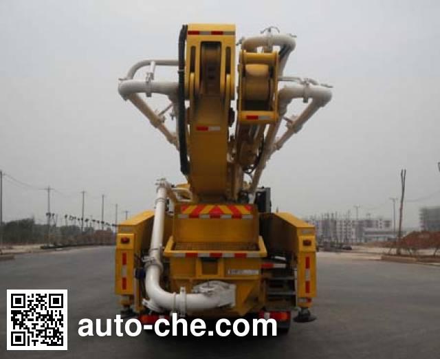 Shantui Chutian HJC5330THB concrete pump truck