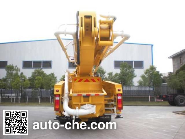 Shantui Chutian HJC5331THB concrete pump truck