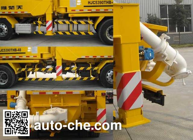 Shantui Chutian HJC5390THB concrete pump truck