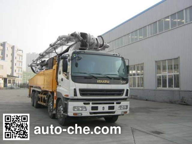 Shantui Chutian HJC5410THB concrete pump truck