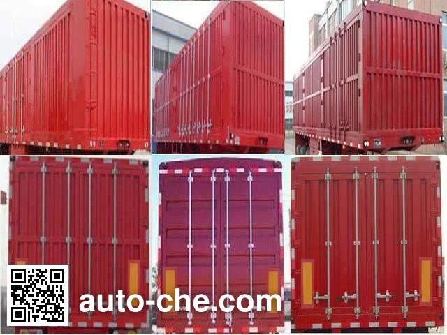 Jinjunwei HJF9401XXY box body van trailer