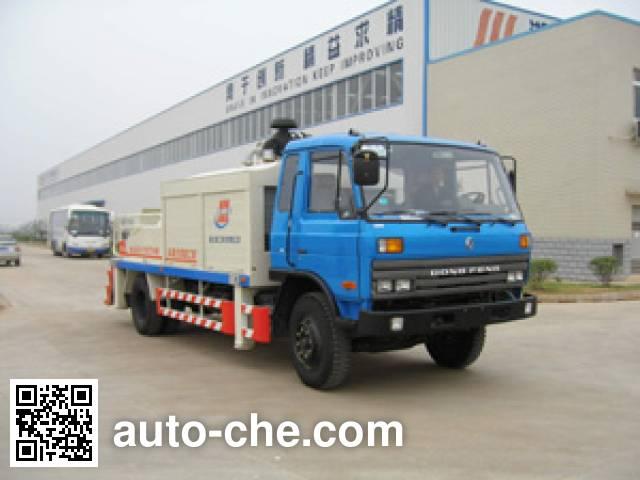 Jinggong Chutian HJG5110THB truck mounted concrete pump