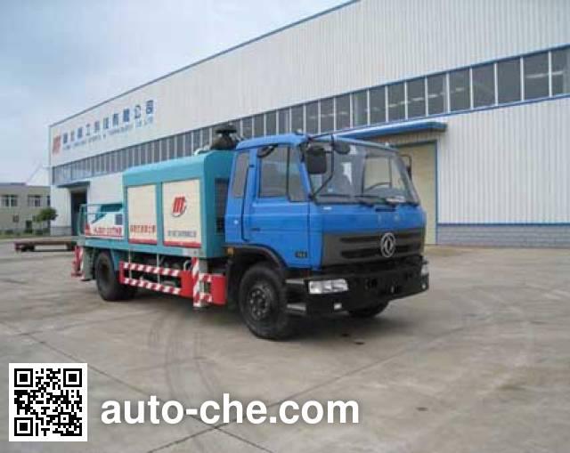Jinggong Chutian HJG5120THB truck mounted concrete pump