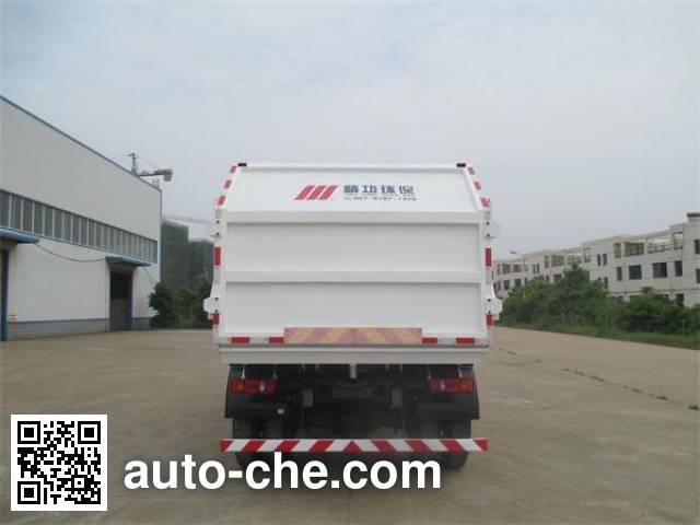 Jinggong Chutian HJG5165ZDJ docking garbage compactor truck