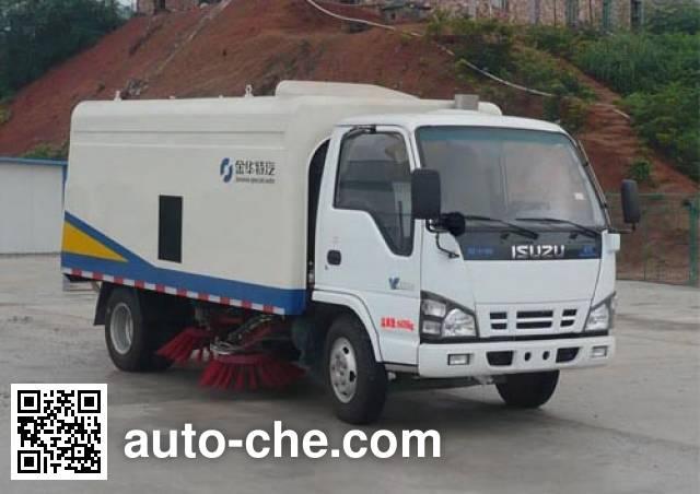 Qierfu HJH5060TSLQL4 street sweeper truck