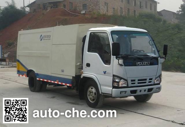 Qierfu HJH5070GQXQL3 highway guardrail cleaner truck
