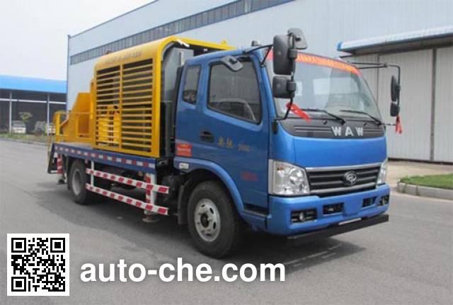 汽尔福牌HJH5090THBFD4车载式混凝土泵车