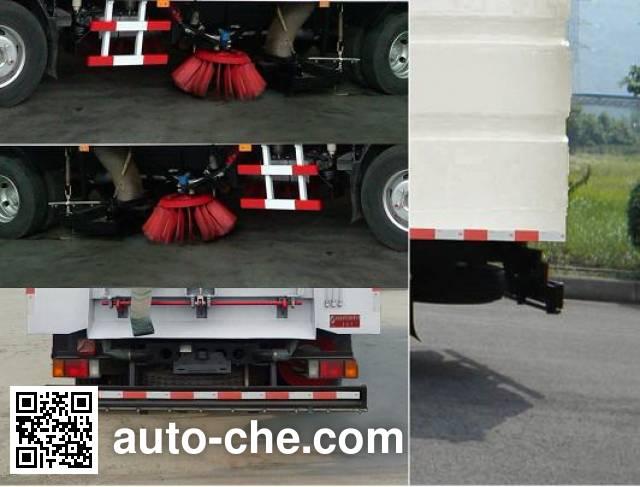 Qierfu HJH5100TXSQL4 street sweeper truck