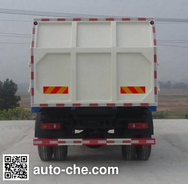 汽尔福牌HJH5165ZLJDFL密封式垃圾车