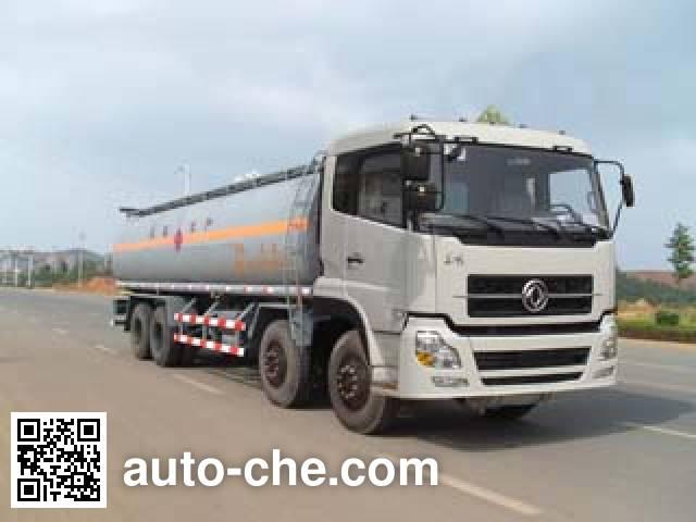 Qierfu HJH5311GHYDFL chemical liquid tank truck