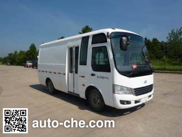 Heke HK5040XXY4 box van truck