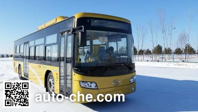哈尔滨牌HKC6122PHEV混合动力城市客车