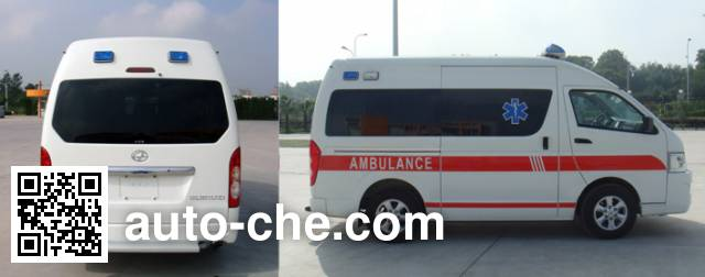 大马牌HKL5030XJHA救护车