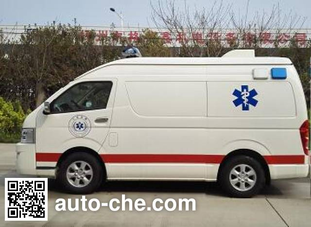 大马牌HKL5040XJHQA救护车
