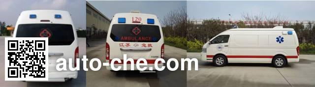 大马牌HKL5041XJHCE救护车