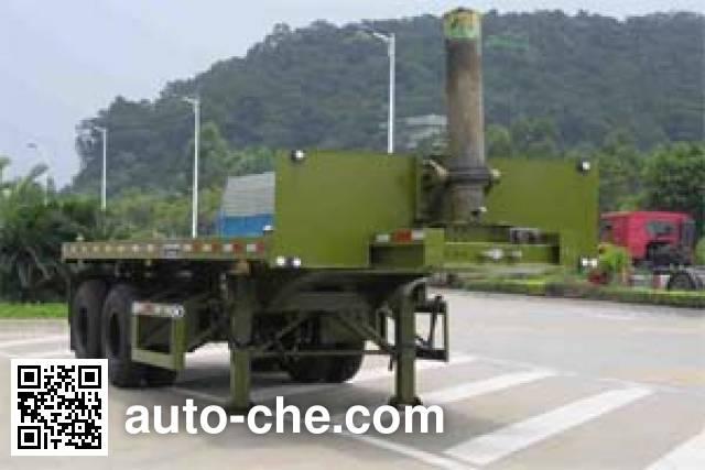 Huilian HLC9341ZZXP flatbed dump trailer
