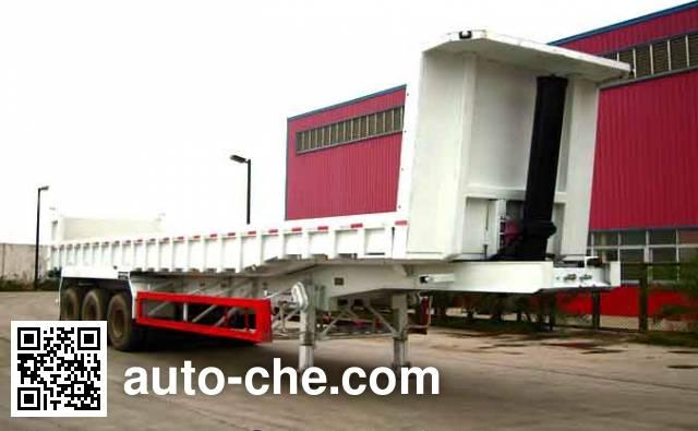 汇联牌HLC9400ZZX自卸半挂车