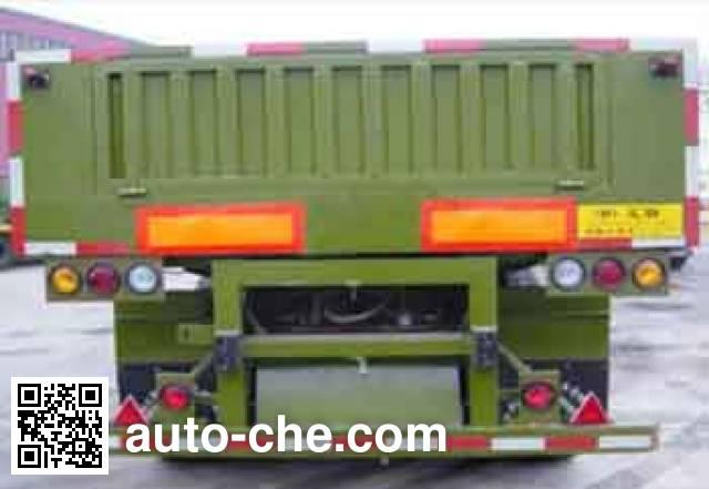 汇联牌HLC9401ZZX自卸半挂车