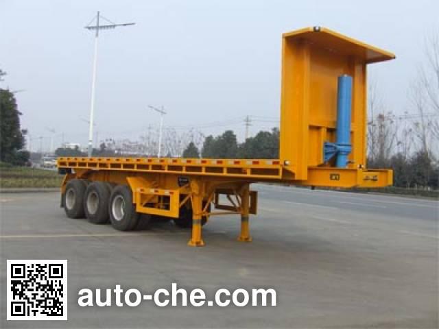 Huilian HLC9401ZZXP flatbed dump trailer