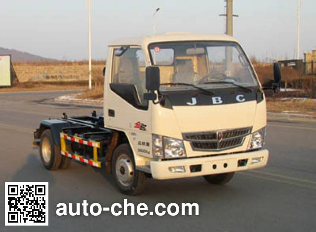 Danling HLL5041ZXXJ5 detachable body garbage truck