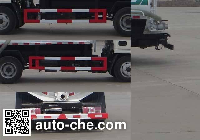 Ningqi HLN5070GZXD4 biogas digester sewage suction truck