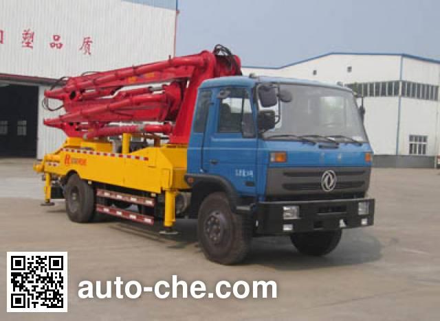 神狐牌HLQ5161THB混凝土泵车