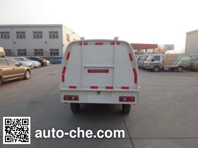 Hualin HLT5024ZLJEV electric dump garbage truck